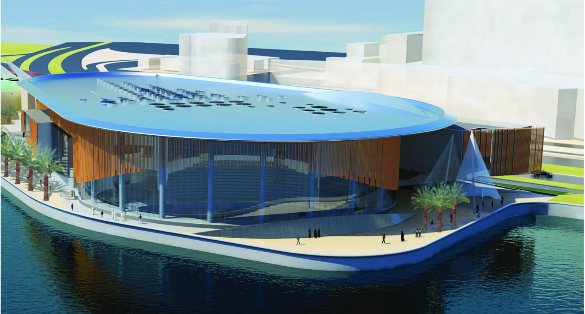 The Scientific Center of Kuwait Expansion Program