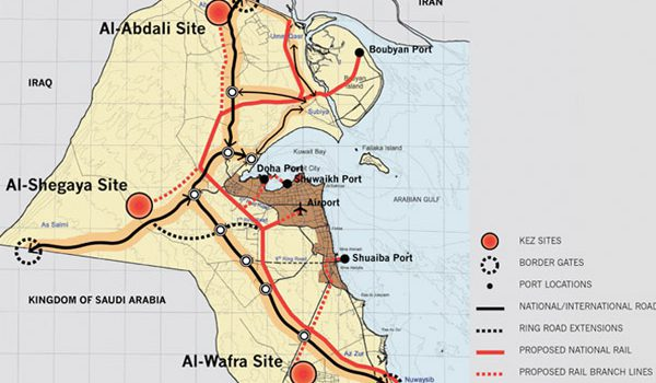 Feasibility Study of the Kuwait Economics Zones is Underway