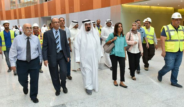Jaber Al Ahmed Al Jaber Al Sabah Hospital Handed Over