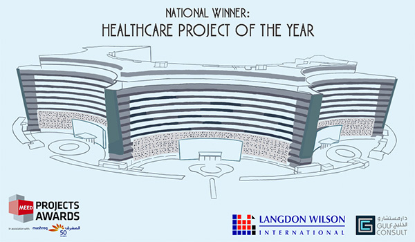 National Winner at the 2020 MEED Projects Awards