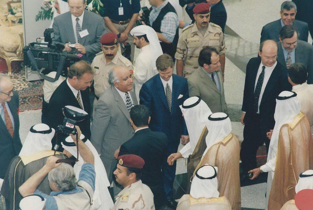 the-scientific-center-kuwait-opening-ceremony-mr-ubed-arain-with-sheikh-jaber-al-ahmad-al-sabah