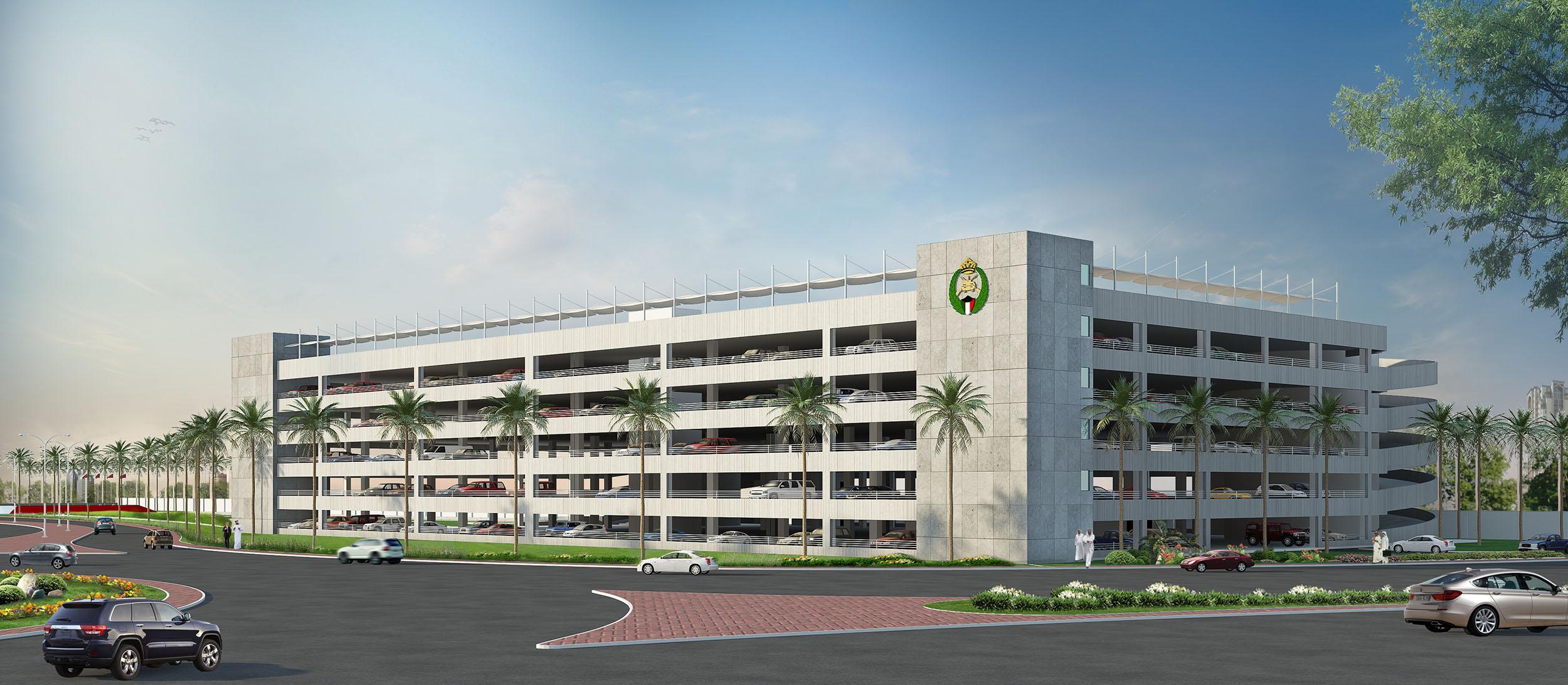 Kuwait National Guard - New Car Park Building